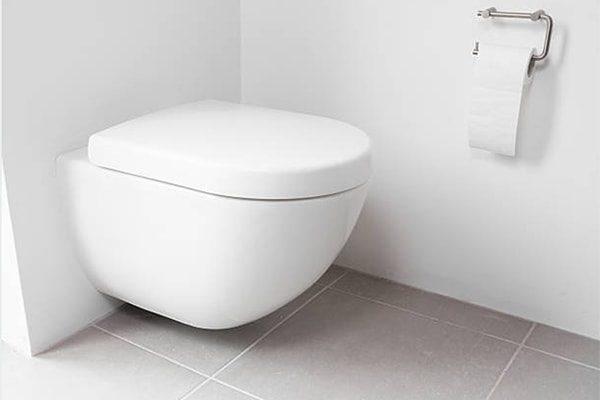 vvs slagelse - badeværelse væghængt toilet